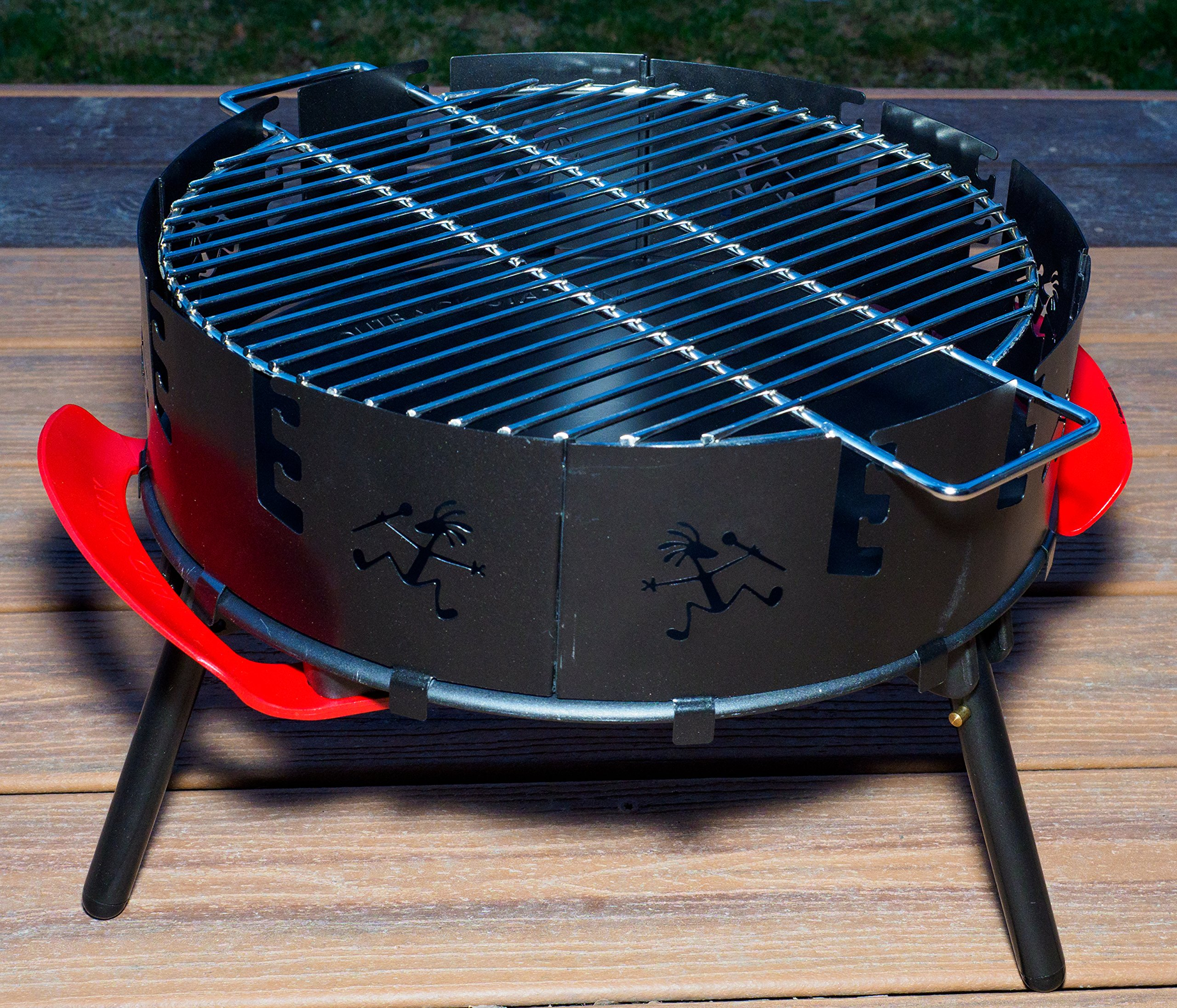 Outback Station Portable Outdoor Grill, Outdoor Grill and Dutch Oven Stand - Dutch Oven not Included