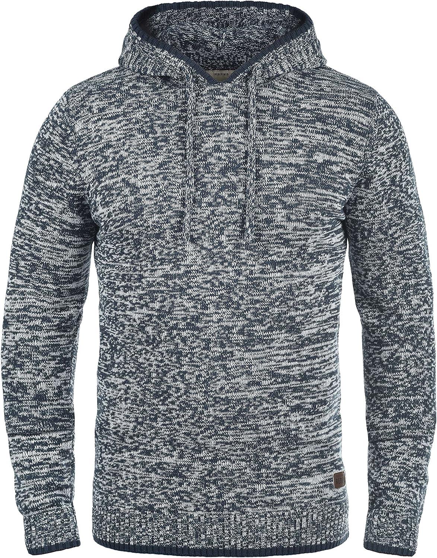 TALLA XL. Redefined Rebel Maurice Jersey De Punto Suéter Sudadera para HombreCon Capucha De 100% algodón
