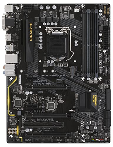 GIGABYTE GA-H270-HD3 LGA1151 Intel H270 2-Way Crossfire ATX DDR4 Motherboard review