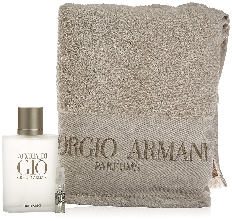 Giorgio Armani Acqua Di Gio Pour Homme Set de Regalo con Toalla - 3 Unidades 8431240093804