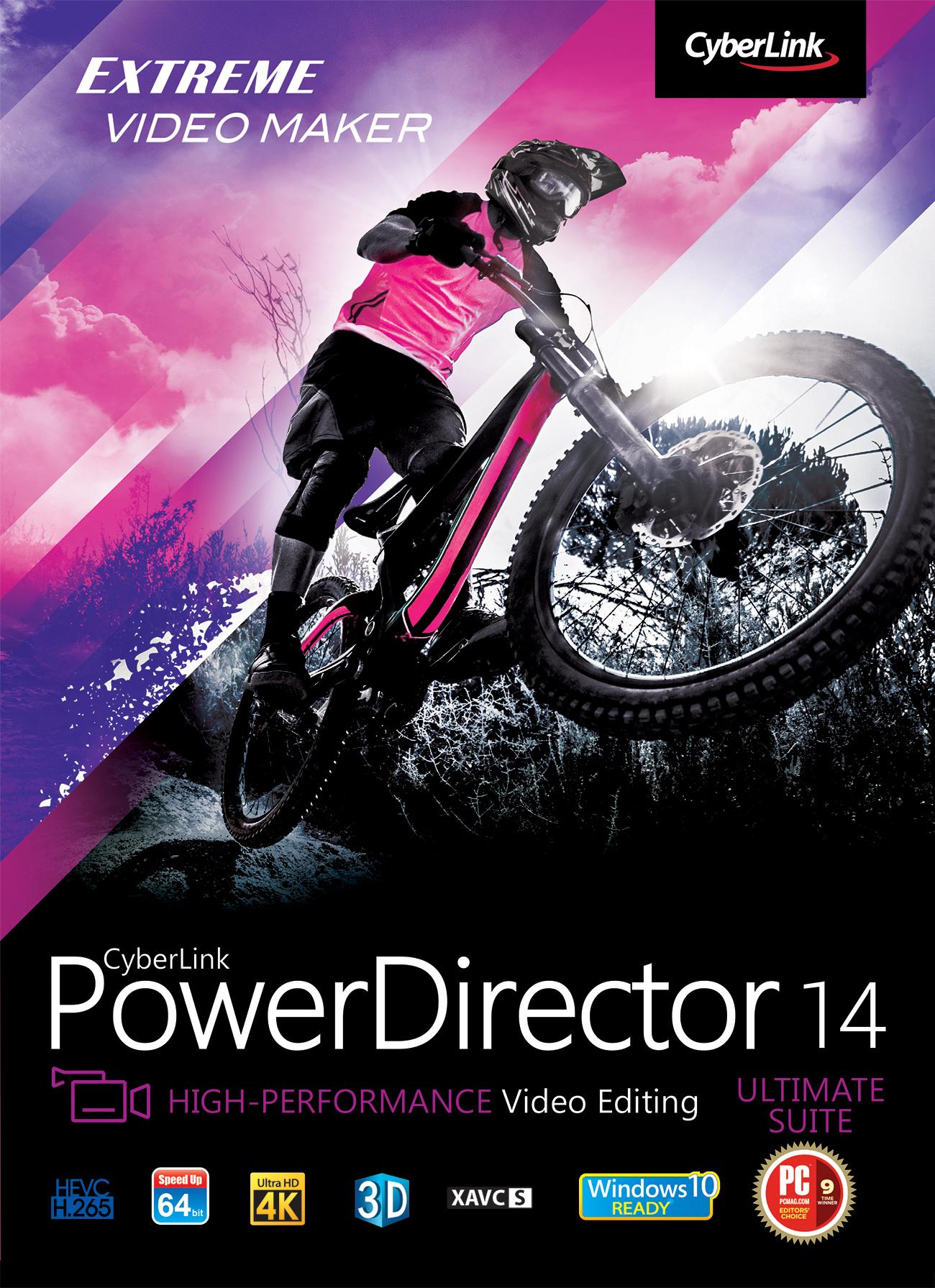 PowerDirector 14 Ultimate Suite [Download] by Cyberlink