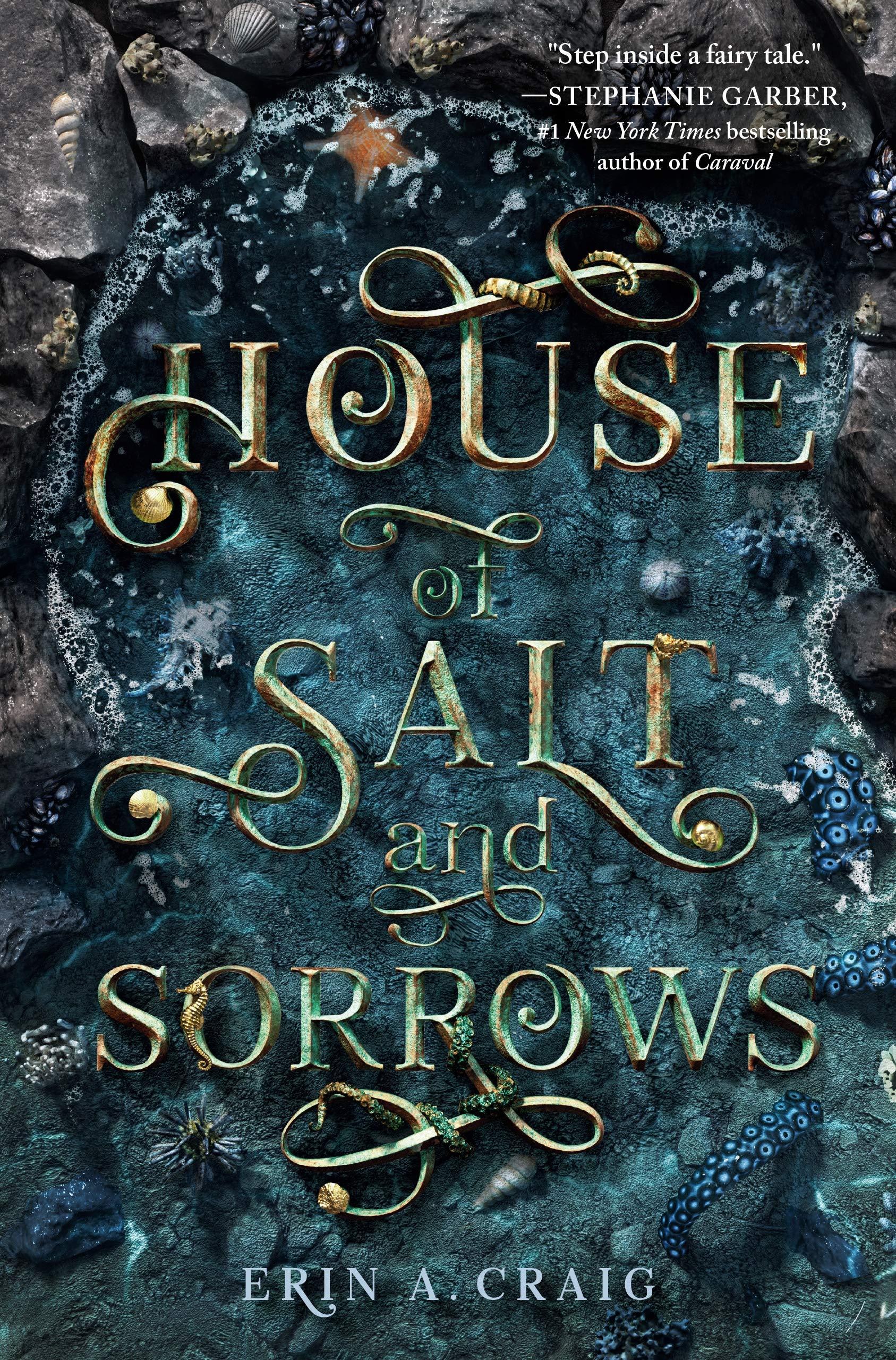 The House of Salt and Sorrows  spooky season books for kids _ Bored Teachers