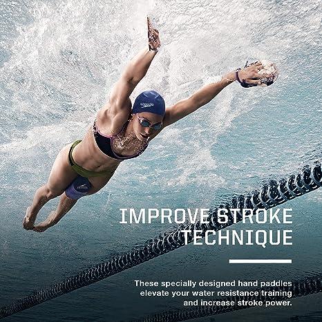 Amazon.com: Speedo Nemesis - Paleta de natación, contorneada ...