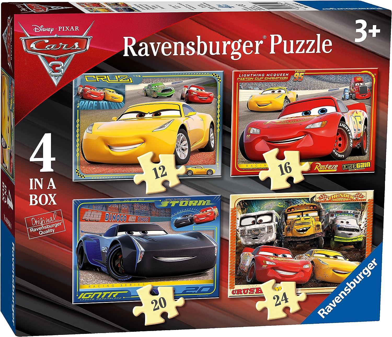 New Boxed Boys Disney Pixar Cars Lightening McQueen Trainers UK Infant 7s-12s