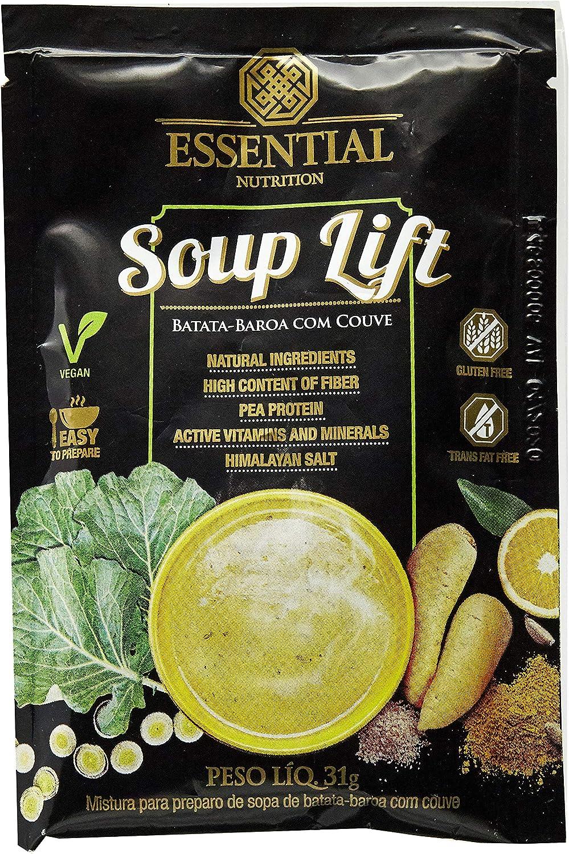 Soup Lift - 1 Sachê 31g Batata-Baroa com Couve - Essential Nutrition, Essential Nutrition por Essential Nutrition