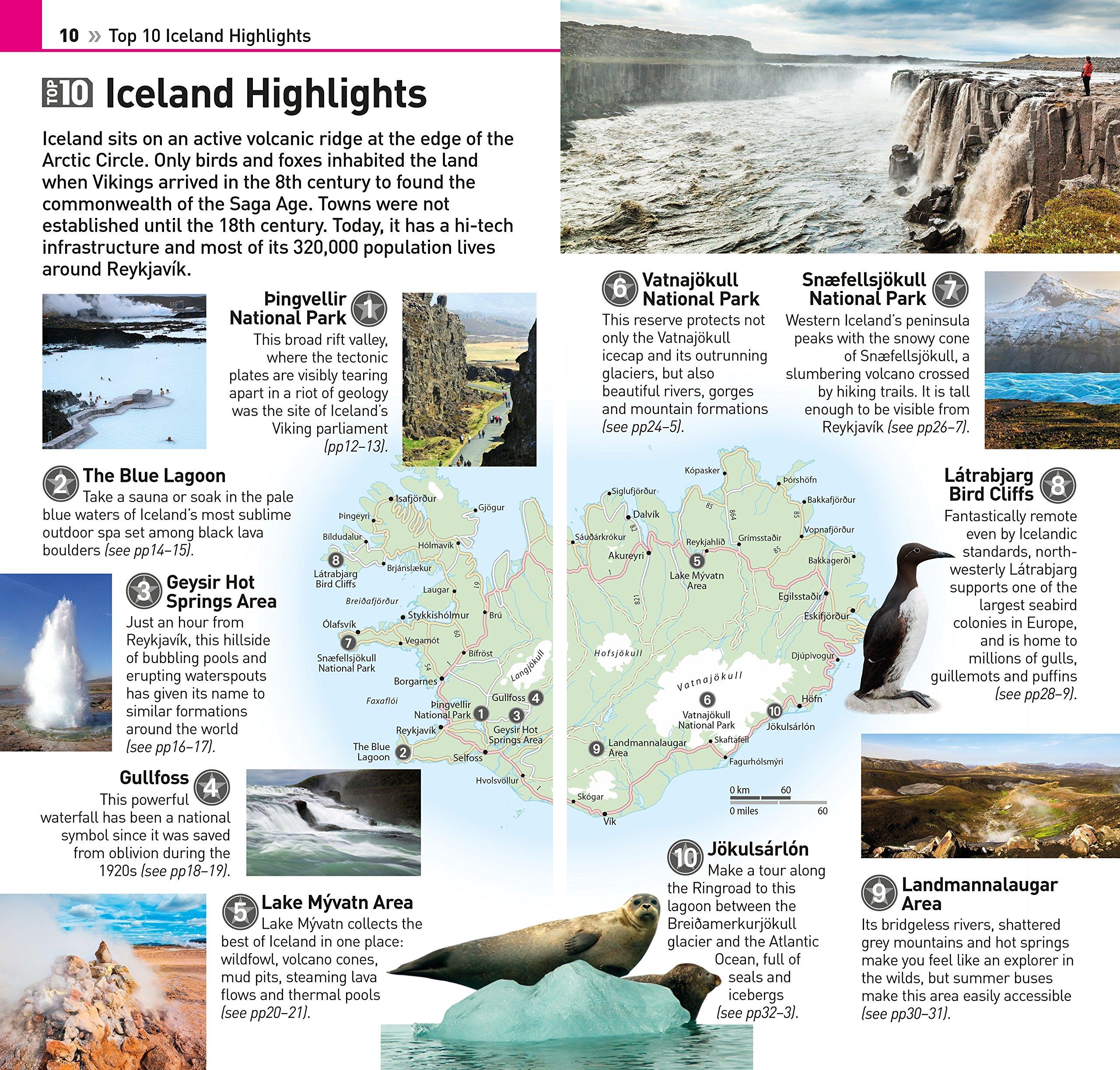Top 10 Iceland Eyewitness Travel Guide DK 9781465440938 Amazon Books