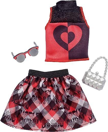 Barbie DC Comics Super Hero Harley Quinn Fashion Pack And Accessories