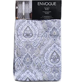 Amazon.com: Envogue Window Curtains Birds Large Flowers 50-by-96 ...