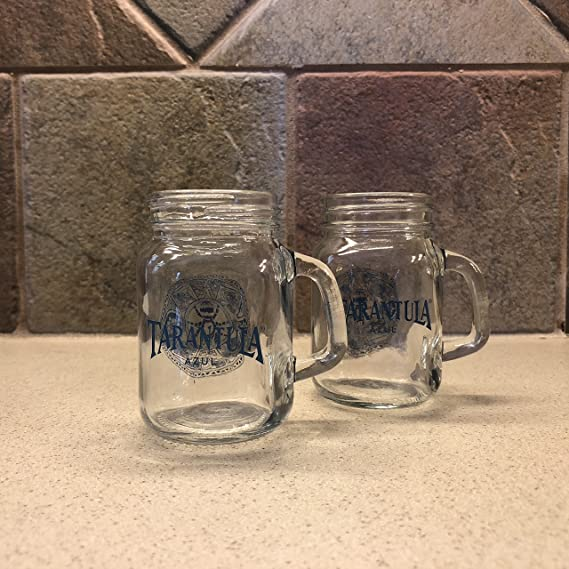 Tarantula Tequila Azul Shot Glass Mugs