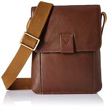 Hidesign Leather Tan Messenger Bag (Aiden 03-Regular-TAN)  Amazon.in  Bags ca2c7e5c41b20