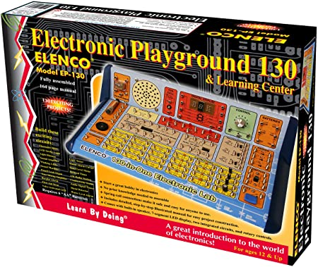 Elenco 130 In 1 Electronic Playground And Learning Center by Elenco