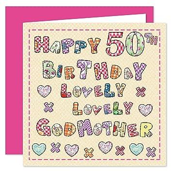 Godmother 50th Happy Birthday Card