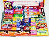 American Sweets Hamper Perfect Candy Gift includes Airheads Tootsie Wonka Laffy Taffy Nerds with 46 Items it is the best value on Amazon Perfect Gift or Present for children and adults NL1214. ONLY BUY FROM QUEENS OF CANDY IF YOU WANT TO RECEIVE THE ITEM IN THE PICTURES AND AS DESCRIBED IN THE DESCRIPTION!