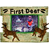 Amazoncom Youngs Wood My First Buck Picture Frame 4 By 6