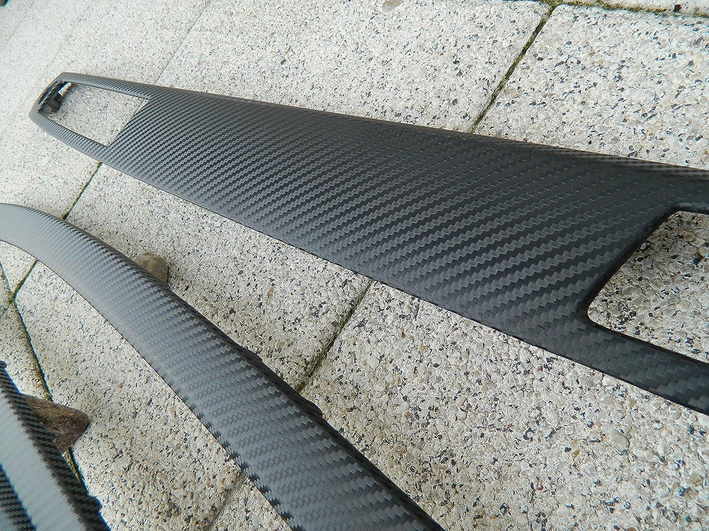 Dekorleisten Interieurleisten E90 E91 Carbon 3D Struktur Folien Set