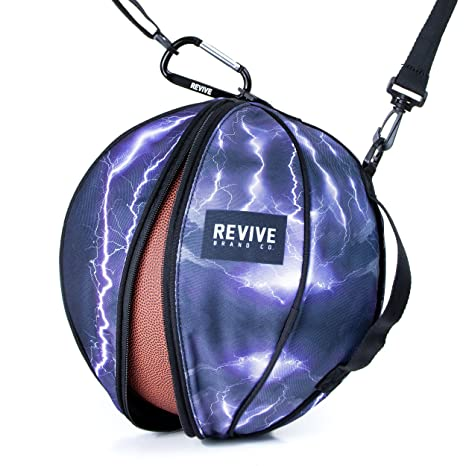 d07941d35153cd Amazon.com   Revive Lightning Strike Game Bag Basketball Bag ...