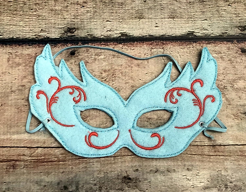 Felt Mardi Gras Style Mask