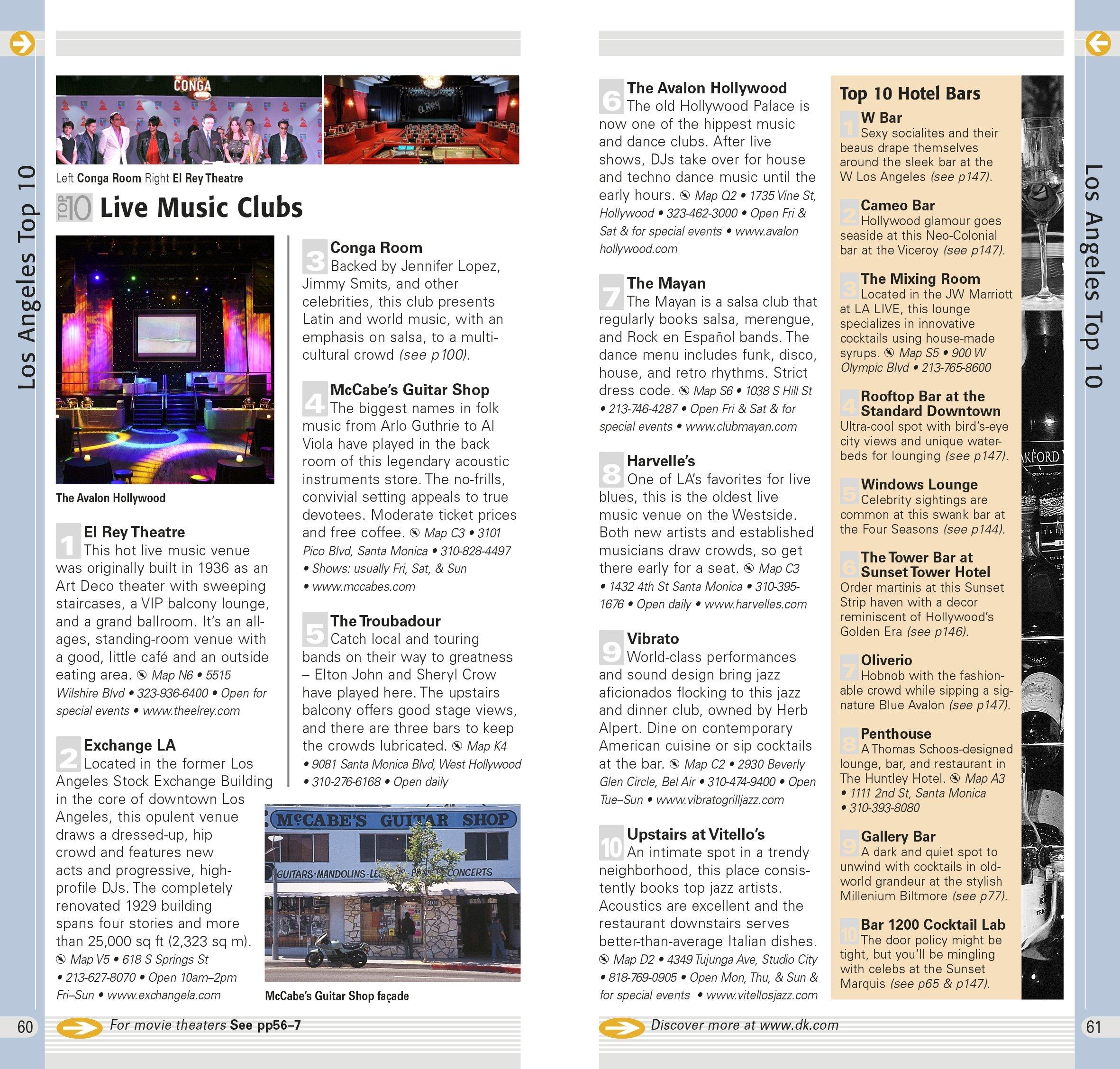 DK Eyewitness Top 10 Travel Guide: Los Angeles: Catherine Gerber ...