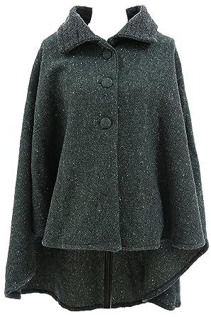 new high buy good new high Kerry Woollen Mills Irish Wool Coat Women Cropped Made in Ireland