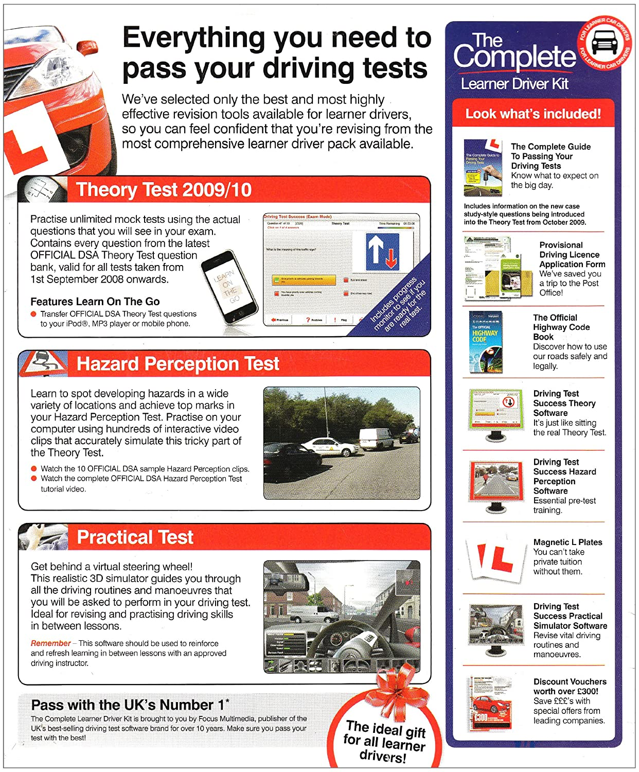 The Complete Learner Driver Kit Pc Amazon Software