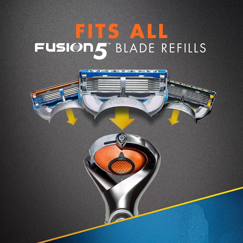 Gillette fusion proglide manual razor with flexball technology - Amazon Com Gillette Fusion5 Proglide Power Men S Razor With 1 Razor Blade Refill And 1 Battery Mens Fusion Razors Blades Beauty