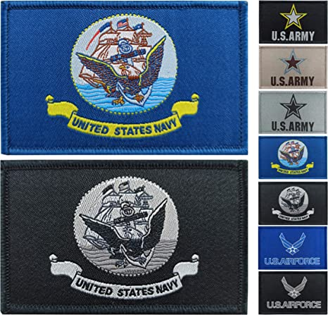 JBCD 2 Pack American Flag Patch USA Flags Tactical Patch Pride Flag Velcro Patch for Clothes Hat Patch Team Military Patch