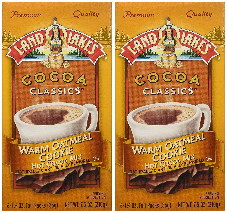 LAND O LAKES COCOA CLASSICS WARM OATMEAL COOKIE HOT COCOA MIX 210g ...