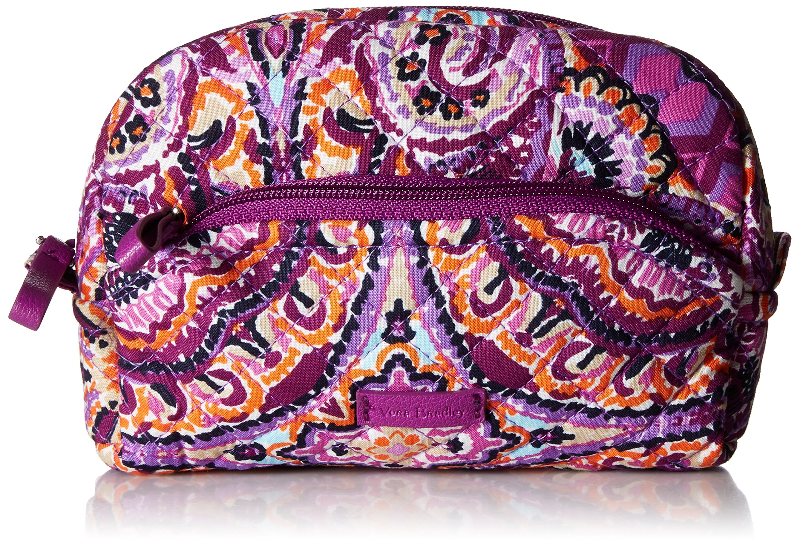 Vera Bradley Iconic Mini Cosmetic, Signature Cotton, Dream Tapestry