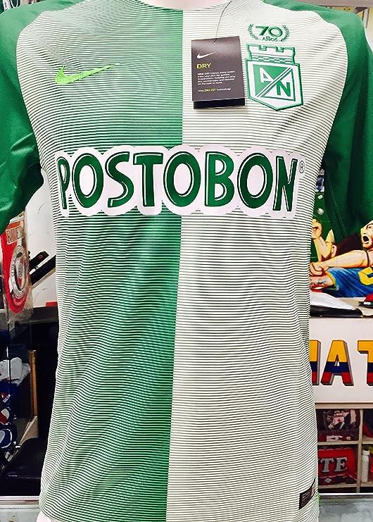 Amazon.com   Atletico Nacional DE Medellin COPA LIBERTADORES Soy DEL Verde  Y Soy Feliz Colombian Jersey Camiseta T Shirt Size Small ONLY   Sports    Outdoors 4d5d116845a