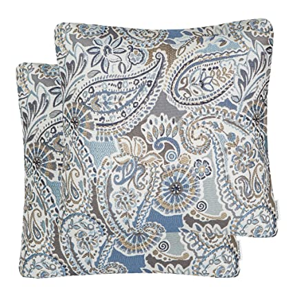 Amazoncom Mika Home Pack Of 2 Decorative Accent Throw Pillow Cover