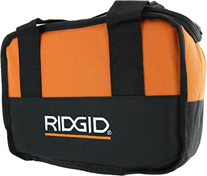 """BAG ONLY NEW RIDGID HEAVY DUTY 11/""""X8/""""X9/"""" SMALL CONTRACTOR TOOL BAG KIT R9600"""