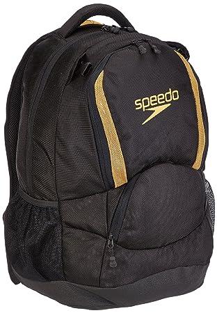 Speedo Mochila de a diario, Nero (black/gold) (Negro) - 8074146950: Amazon.es: Equipaje