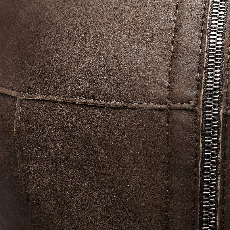 schwarz vielseitige warme Fellweste auch als Reitweste braun Fell grau Gr in cognac 34 bis 48 Outdoorweste /& Winterweste geeignet Damen Lammfellweste von WERNER CHRIST HORSE Weste aus echtem Lammfell