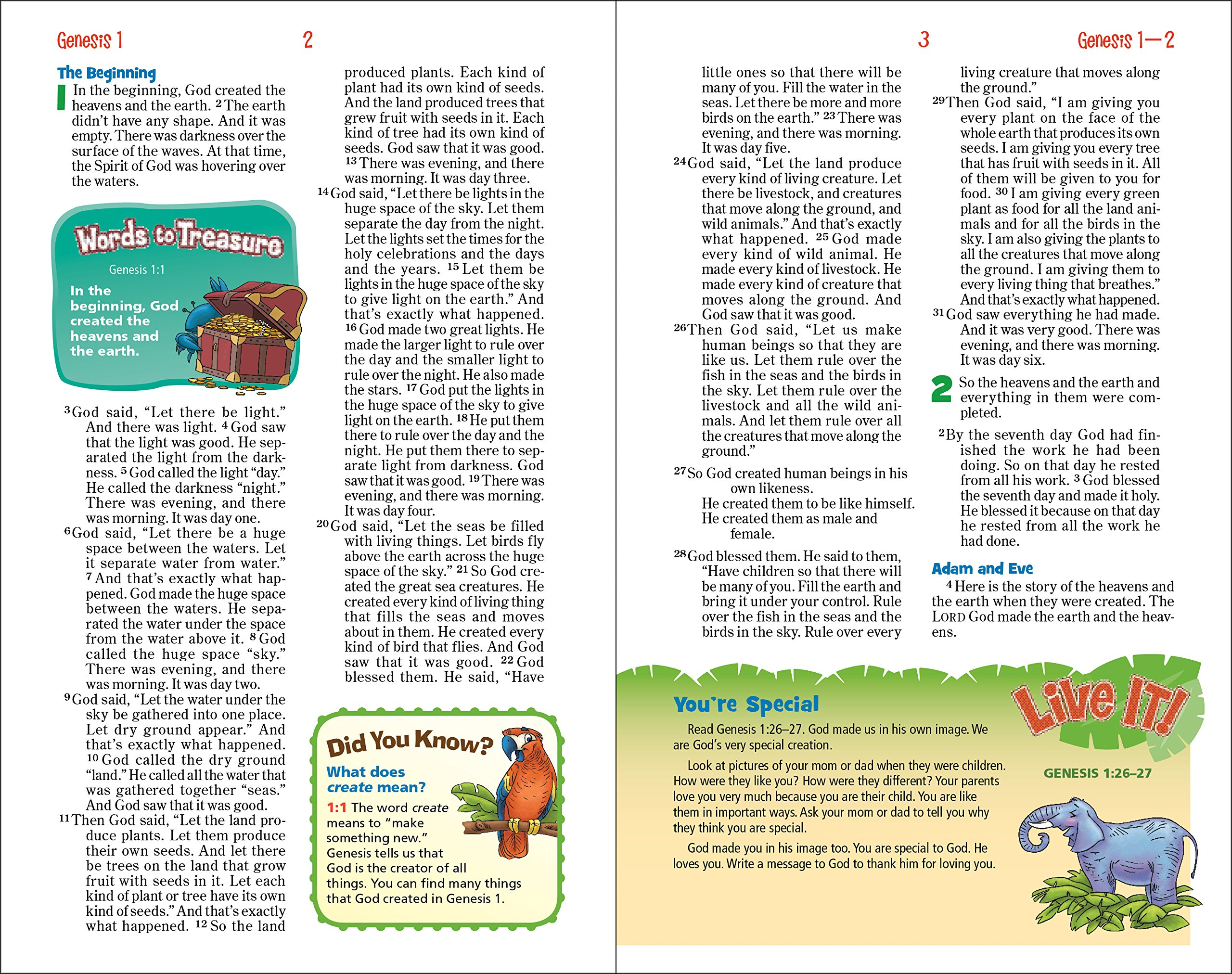 NIrV, Adventure Bible for Early Readers, Paperback, Full Color: Zondervan,  Lawrence O. Richards: 0025986727437: Amazon.com: Books