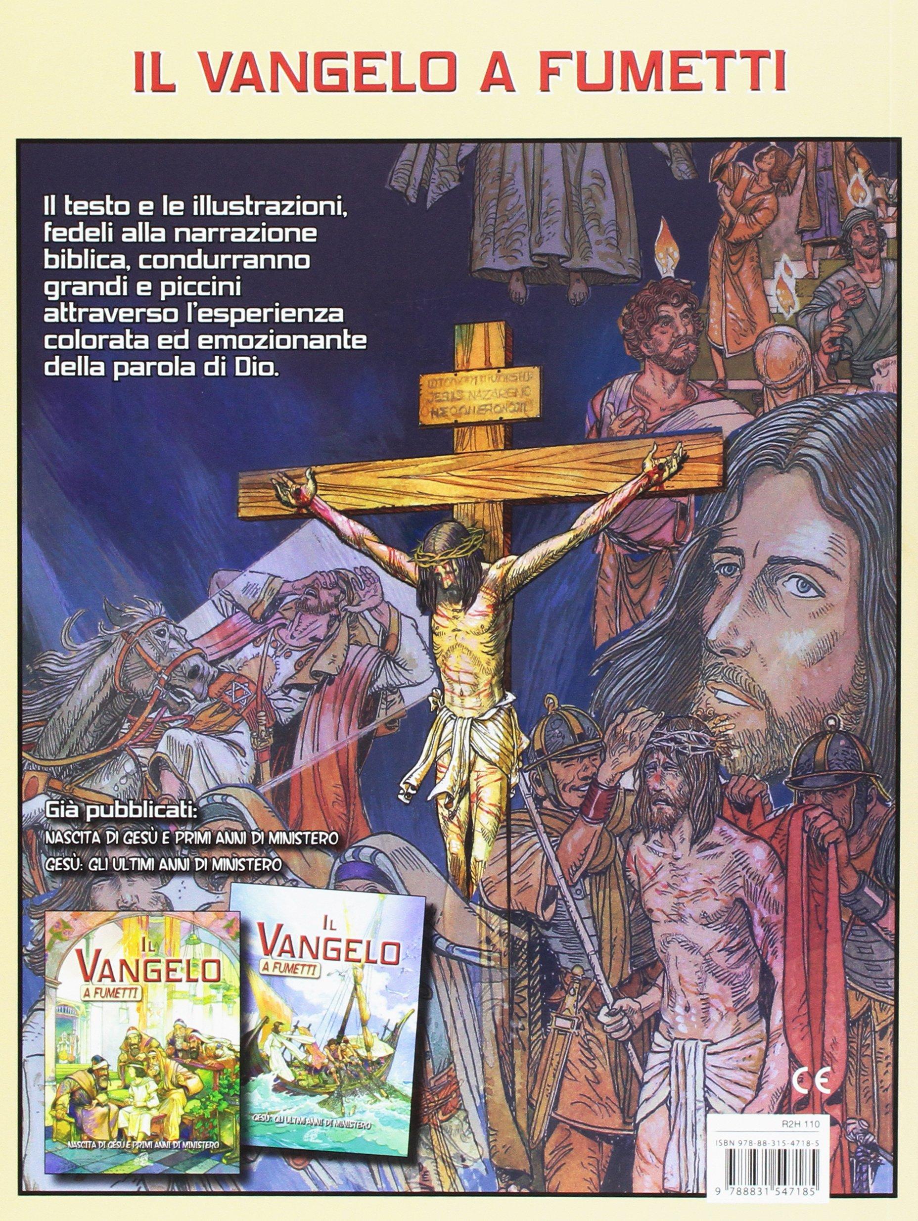 Il vangelo a fumetti. da gesù a paolo. ediz. illustrata: amazon.it