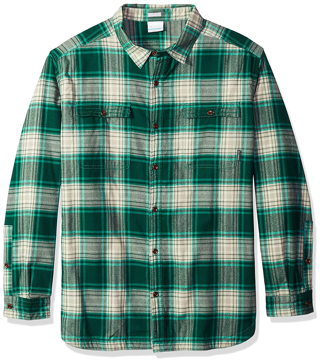 fb62525118f Columbia Men's Flare Gun Waffle Lined Flannel Ii at Amazon Men's Clothing  store: