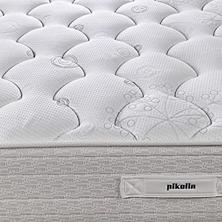 PIKOLIN Colchón de muelles avanzados Normablock Confort viscoelástico 90x190, firmeza Media, Altura 25 cm
