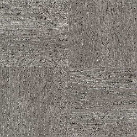 Amazon Com Ben Jonah Ben Jonah Tivoli Charcoal Grey Wood 12x12 Self Adhesive Vinyl Floor Tile 45 Tiles 45 Sq Ft Collection Multicolor Home Kitchen