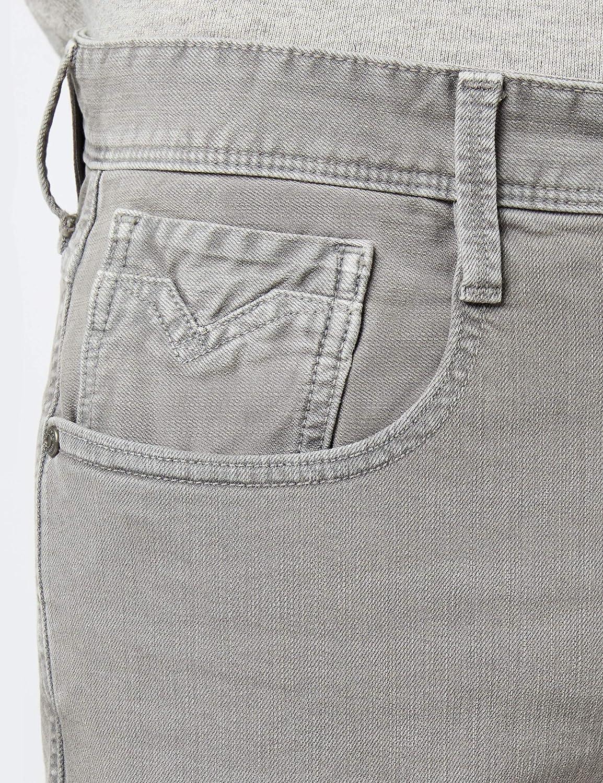 Replay Men's Anbass Slim Jeans Grey (Grey 20)