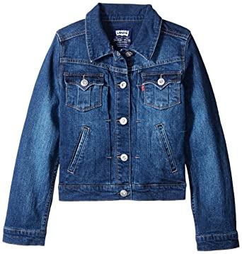 Amazon.com: Levi's Toddler Girls Toddler 1705 Denim Jacket Jean ...