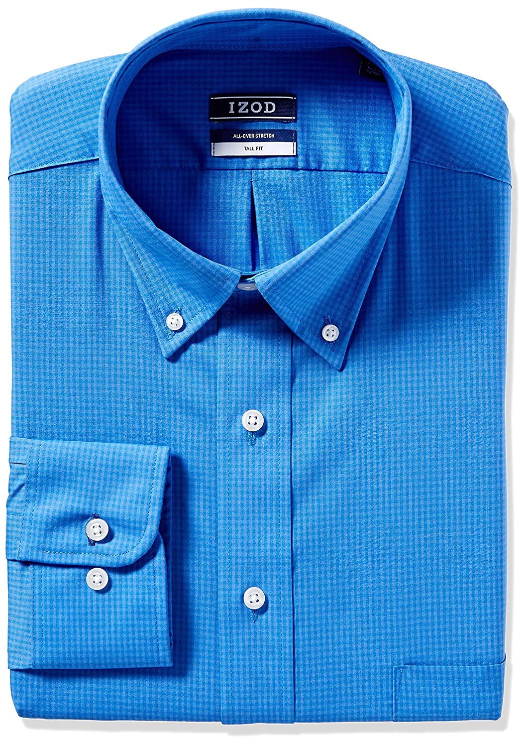 Big and Tall Izod Men/'s TALL FIT Dress Shirts Stretch Check