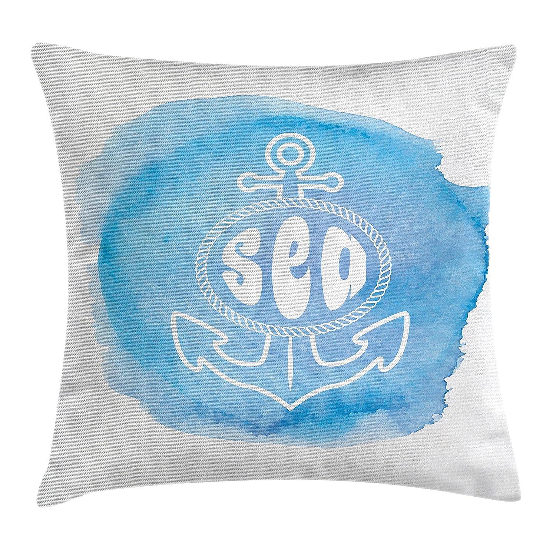 Amazon.com: Nautical Decor Throw Pillow Cojín Cubierta por ...