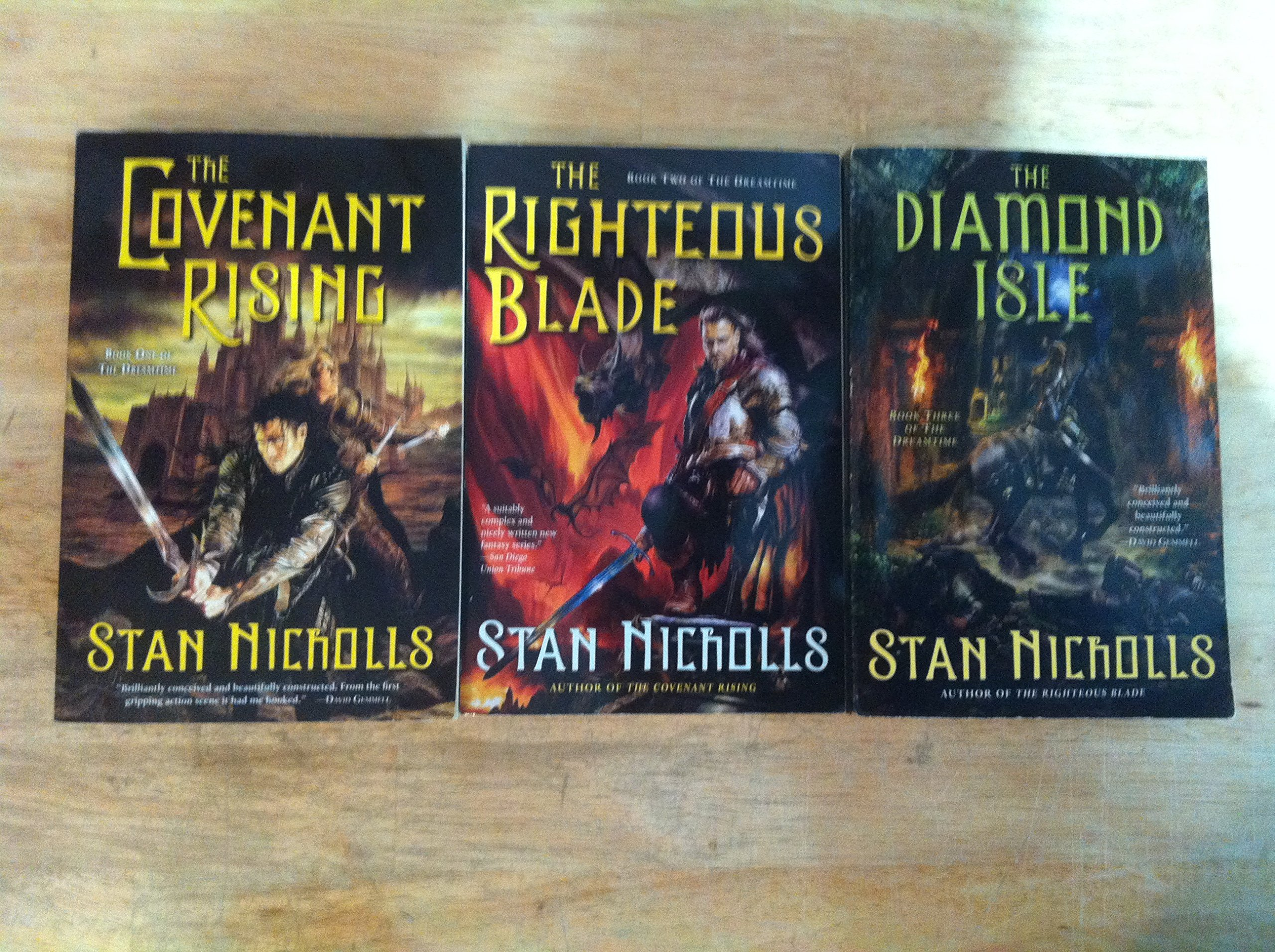 the righteous blade nicholls stan