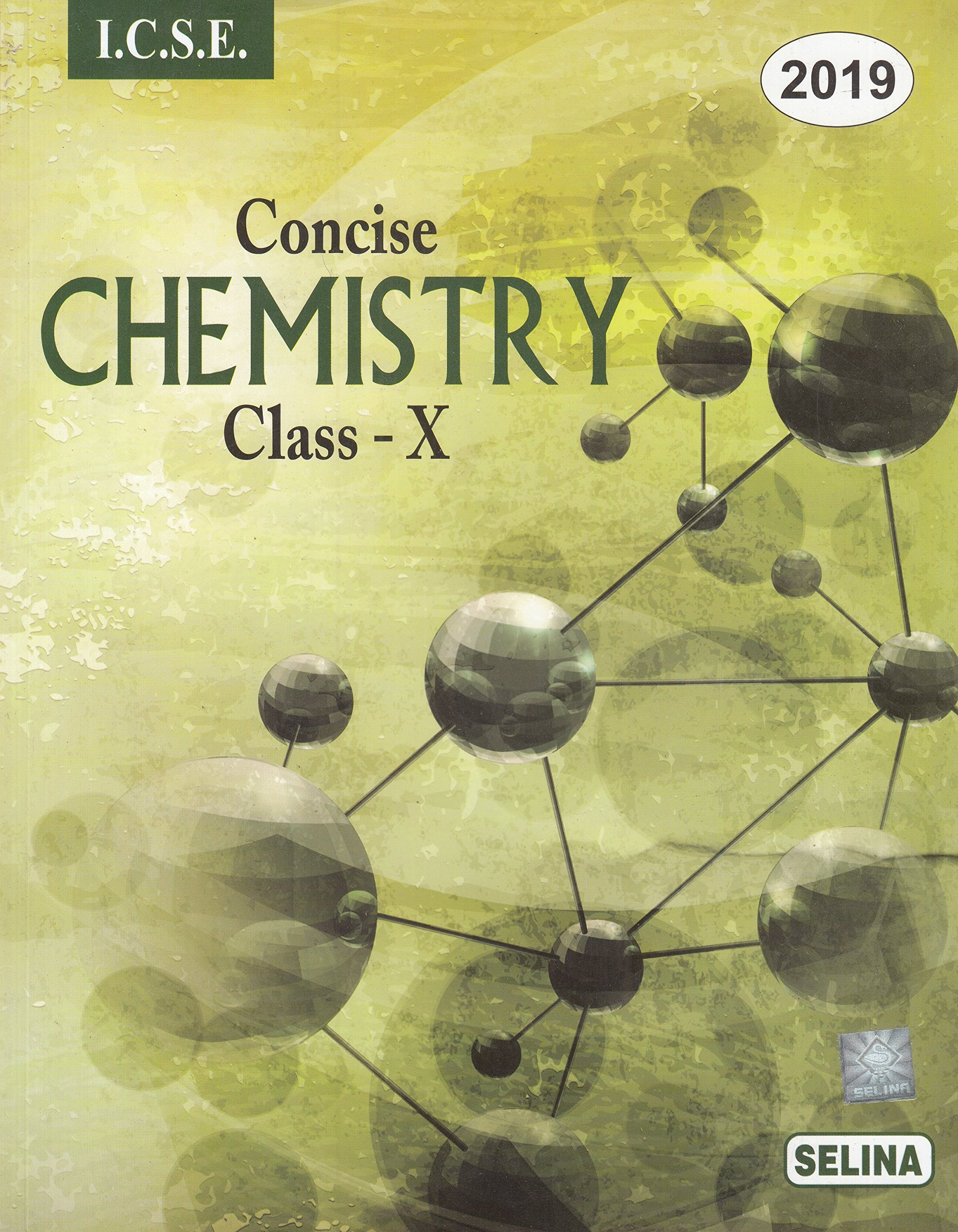 amazon in buy selina icse concise chemistry for class 10 2018 19