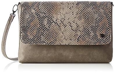 Damen Mila Vip Clutch, Braun (Braun), 3x18x28 cm Tom Tailor