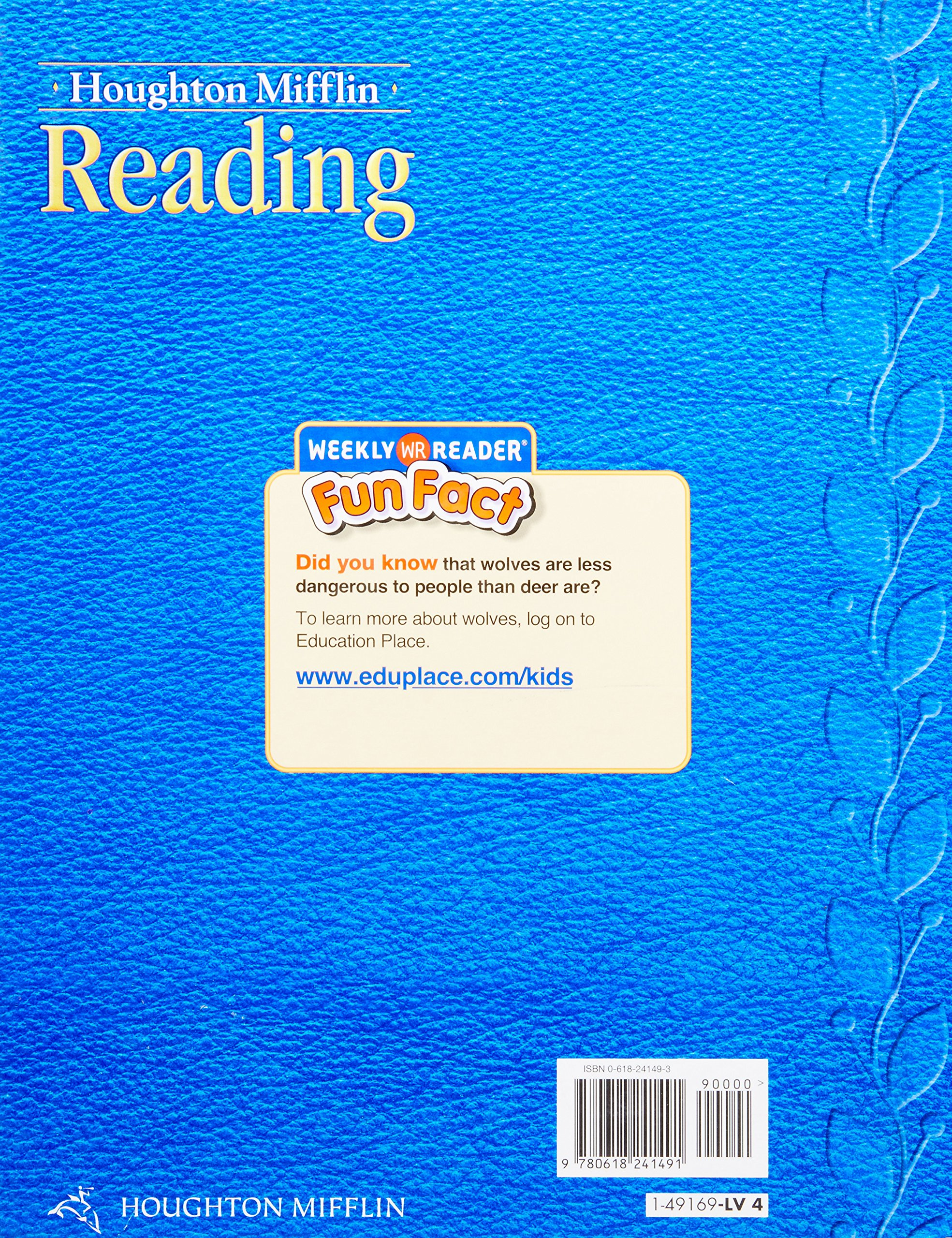 Houghton Mifflin Reading: Student Anthology Grade 4 Traditions 2005