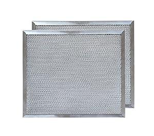 "Aluminum Range Hood Filter - 9 7/8"" X 11 11/16"" X 3/8"" (2 PACK)"