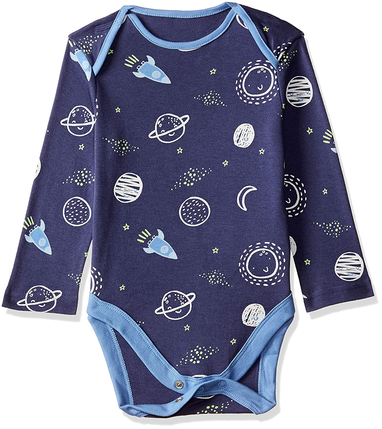 Mothercare Baby Boys 5 Pack Long Sleeve Mummy /& Daddy Bodysuits