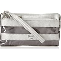 Baggit Women's Cosmetic Bag (Silver)