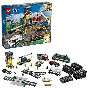 Lego City Güterzug 60198 Kinderspielzeug Amazonde Spielzeug